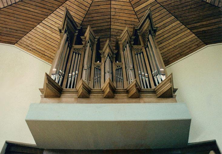 Instrument erbaut von G.Cartelieri ca. 1978
